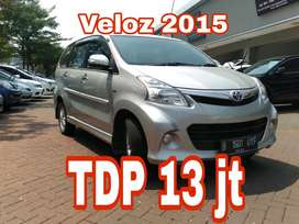 Veloz 2015 AT angsuran 3.729 km30rb