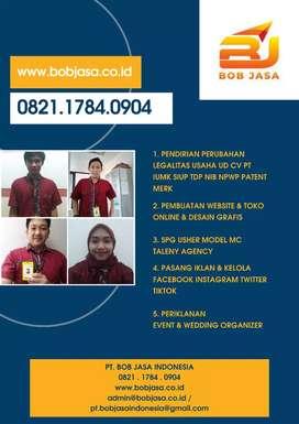 BOB JASA Pengurusan Pendirian PT UD CV SIUP IUMK NIB NPWP di Baubau