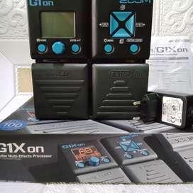 Zoom g1on efek digital