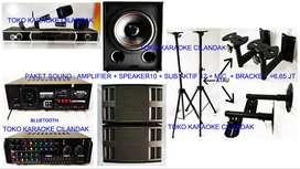 new paket sound system + sub harga 6,65 juta sett