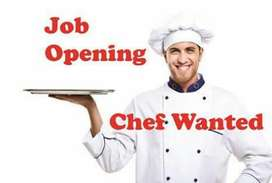 North Indian chef required preferably from Bombay or lucknow