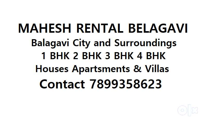 Mahesh Rental Houses Flats  and independent Bungalows in Belagavi City 0