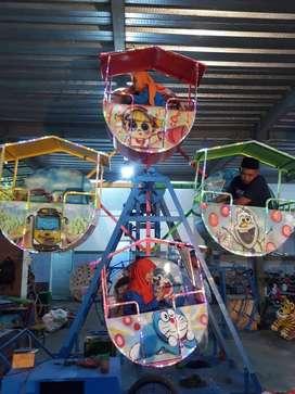 kincir mini gerobak  mainan pancingan ikan  DZ