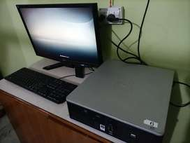 Acer lcd or hp core 2 duo keyboard + mouse + wifi dongle