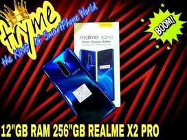 "TRYME 12GB RAM 256""GB REALME X2 PRO Full Kit Box Brand New Conditions"