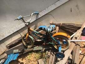 Jual sepeda seadanya