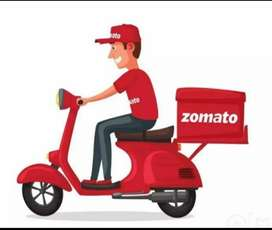 Requirement of food delivery boys in Zomoto