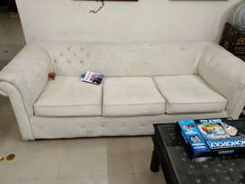 SOFA 5 SEATER WITH COVER FOR 2 SINGLE