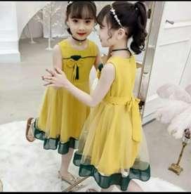 Dress gempita kids