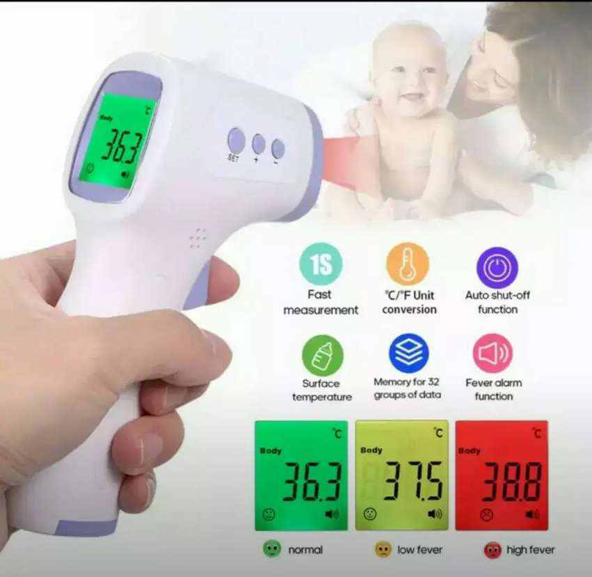 Termometer infra red murah garansi 0