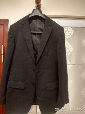 Suit black coat and pants Louis philippe
