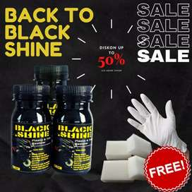 HS Back to black shine Penghitam /pengkilap body sepeda