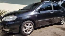Corolla Altis G 2003 automaitc plat B