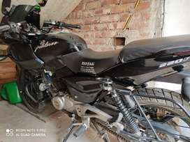Pulsar 220F. 6 year old but only 5000 km has driven. .