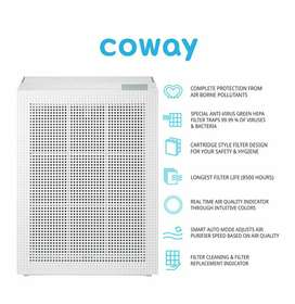Air Purifier with True HEPA filter - Coway