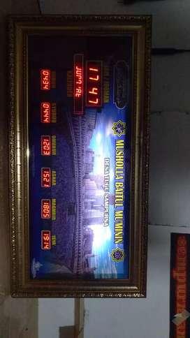 Jam sholat Masjid Type Mini P