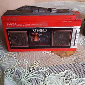 Sony cassette corder w-66 very vintage