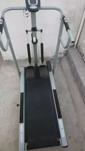 Treadmill manual with timer and pulse calculator