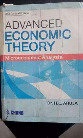 advanced economics theory h l ahuja