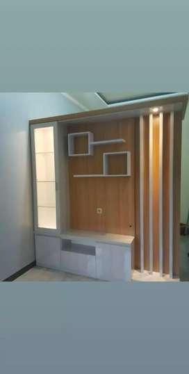 Penyekat ruangan+lemari pakaian harga per 1 mter