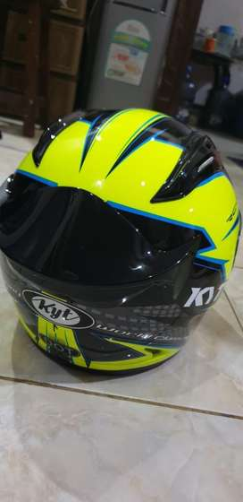 Helm Fullface KYT ori ( size L )