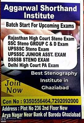Shorthand Classes Hindi and English