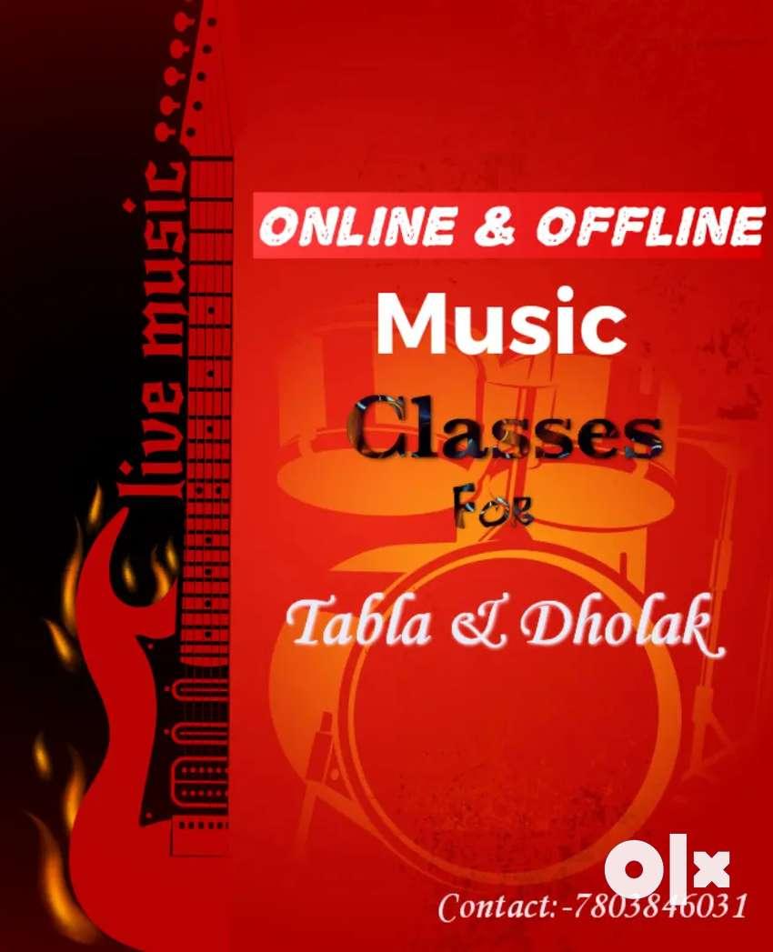 Online & offline tabla classes