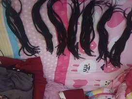 Hair extention 70helai
