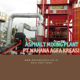 Asphalt Mixing Plant Red