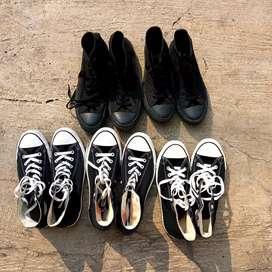 Converse Black White & All Black