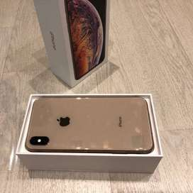 Less Used I Phone XS max 128 GB gold color available in COD & Emi