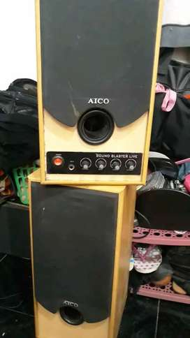 Speaker aktif aico