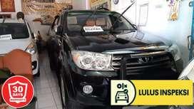 [Lulus Inspeksi] Fortuner G 2010 Diesel 2.5 Matic Asli Dk low km 44 rb