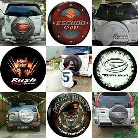 Sarung Ban Serep Mobil Jeep Wrangler Rubicon Cover ban Escudo Suzuki P