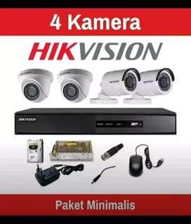 Pusat instalasi kamera CCTV termurah dan lengkap bergaransi