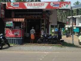 Eva Bakery & Fast food center for sale @ near Film City Alakode