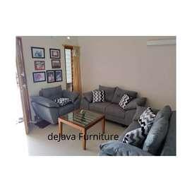 Sofa 221 sandaran dakron empuk. Modern