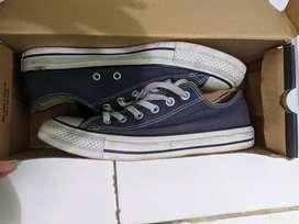 converse navy blue tt / bt