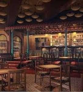 Excellent Restaurant Space at 7 Bunglow, Andheri West