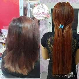 Hair extension asli /rambut sambung murah