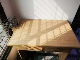 Home used wooden computer Table with Chair
