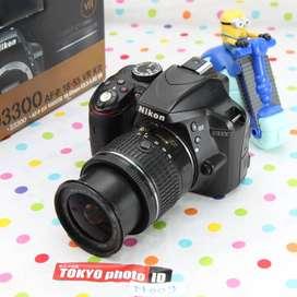Nikon D3300 lensa kit Unit B