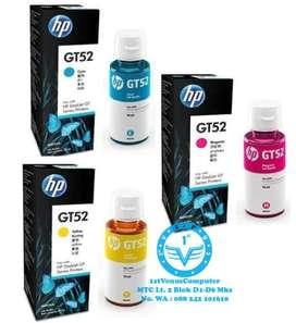 TINTA PRINTER HP GT52 INK BOTTLE CYAN / MAGENTA / YELLOW ORIGINAL