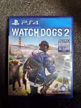 Kaset BD Ps 4 Watch Dog 2