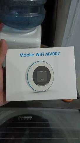 Modem 4G mobile wifi MV007, untuk semua kartu