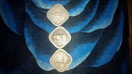 3Old coin for sell only 2000000 year 1957 to 1963