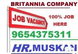 Britannia Company- Full Time Job Helper Store Keeper Supervisor Apply