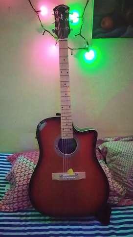 Signature Jumbo Acustic Guitar New Condition