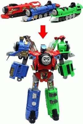 Mainan Robot Transformer Thomas Bisa Berubah