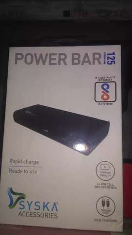 New Sysca Power Bank 12500mah